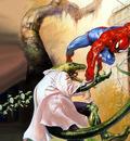 JLM Julie Bell Spiderman vs Lizard