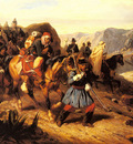 Bellange Joseph Louis Hippolyte Returning From Battle