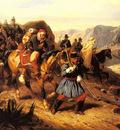 Bellange Joseph Louis Hippolyte Returning From Battle