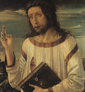 BELLINI,G  CHRISTS BLESSING, 1460, LOUVRE