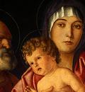BELLINI,G  MADONNA AND CHILD WITH SAINTS, C  1490, DETALJ, N