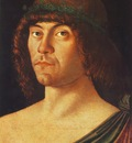 BELLINI,G  PORTRAIT OF A HUMANIST, CIVICHE RACCOLTE DARTE,