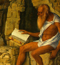 BELLINI,G  SAINT JEROME READING, 1480 1490, DETALJ 2, NGW