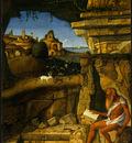 BELLINI,G  SAINT JEROME READING, 1480 1490, NGW