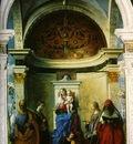 Bellini,Giovanni Madonna with saints, 1505, 402x273 cm, Chur