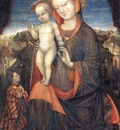 Madonna with child adored EUR