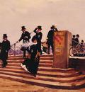 Pont des arts windy day