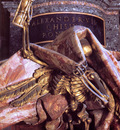 Tomb of Pope Alexander VII detail Death