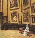 Beroud Louis In The Louvre