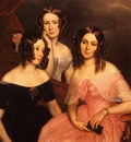 Berthon, George Theodore The Three Robinson Sisters end