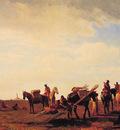 Indians Traveling near Fort Laramie