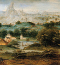 Bles met de Henri Landscape with the expulsion of Hagar Sun