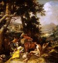 Bloemaert Abraham Landscape with preaching Sun