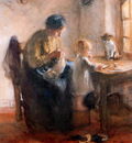 Blommers Bernardus Mother and child 2 Sun