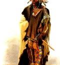 Kb 0009 Wahk Ta Ge Li Sioux Warrior KarlBodmer, 1833 sqs