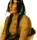 Kb 0019 Psihdja Sahpa Yanktonian Indian KarkBodmer, 1833 sqs