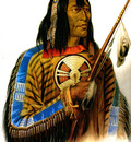 Tna 0005 Noapeh Assiniboin Chief KarlBodmer, 1834 sqs