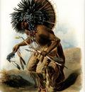 Tna 0021 Pehriska Ruhpa, Moennitarri Warrior KarlBodmer, 1833 sqs