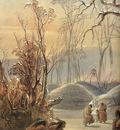 Tna 0024 Winter Village of the Minatarres [L] KarlBodmer, 1833 sqs