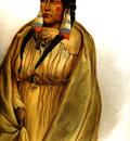Tna 0028 Woman of the Cree Tribe KarlBodmer, 1832 sqs