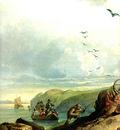 Tna 0030 Hunting the Grizzly Bear [L] KarlBodmer, 1834 sqs