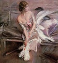 Boldini Giovanni Portrait of Gladys Deacon