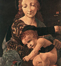 Boltraffio Giovanni Antonio Virgin and Child with a Flower Vase
