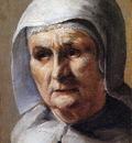 Borch ter Mozes An old woman Sun