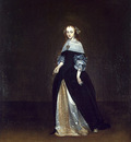 Terborch Portrait of Catarina van Leunink, 80x59 cm, Eremita