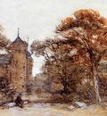 Bosboom Johannes Castle Westhoven In Domburg Sun