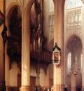 Bosboom Johannes Interior Of Sint Jan Church In Den Bosch Su