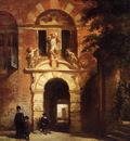Bosboom Johannes Main Gate Stadsdoelen Hoorn Sun