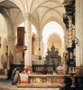 Bosboom Johannes St Jacques Kerk In Antwerpen Sun