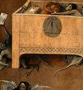 BOSCH DEATH AND THE MISER, C  1485 1490 DETALJ 4 NGW
