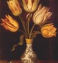 bosschaert tulips in a vase