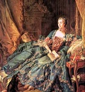 boucher the marquise de pompadour,