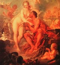 boucher the visit of venus to vulcan,