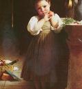 Bouguereau William Adolphe MAUVAISE ECOLIERE