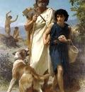 Homere et son guide