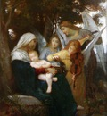 Study for Vierge aux anges