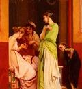 Boulanger Gustave Clarence Rodolphe Une Marchande De Bijoux A Pompeii