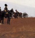 Breitner George Hendrik Artillery on the moor Sun
