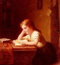 Bremen Johann Georg Meyer von Das Lesende Madchen