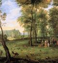 Breughel de Fluwelen Archdukes strolling Sun