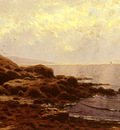 Bricher Alfred Thompson Low Tide Baileys Island Maine