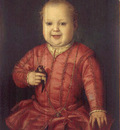 bronzino, portrait of giovanni demedici