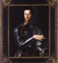 Bronzino Duke Cosimo I deMedici in Armour, c 1540s, oil on