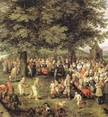 BRUEGHEL Jan the Elder Wedding Banquet
