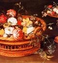 Jan Bruegel Une Corbeille de fleurs detail , De