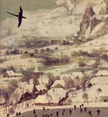 Bruegel d a  The hunters in the snow, 1565, Detalj 1, 117x16